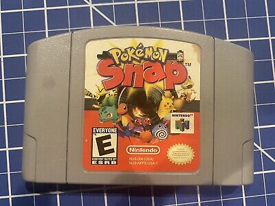 $10.80 • Buy Pokemon Snap (64, 1999) N64 Game Authentic Cart Only