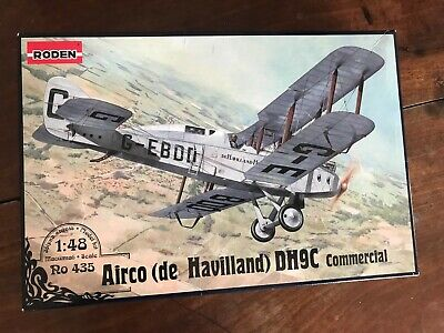 £18 • Buy Roden Airco DH-9C Commercial 1/48 Model Ro435