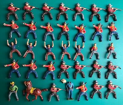 £75 • Buy Vintage Timpo Lead Cowboys LOT Of 35