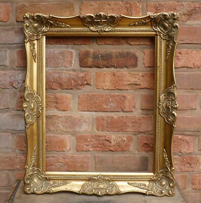 £45 • Buy Vintage French Rococo Gold Wooden Picture Frame