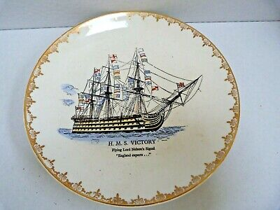 £0.99 • Buy Admiral Nelson Ship Plate By Lord Nelson Pottery HMS Victory