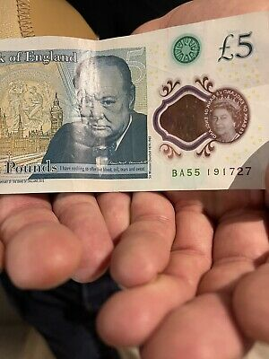 £10 • Buy £5 Note Rare Bass Number