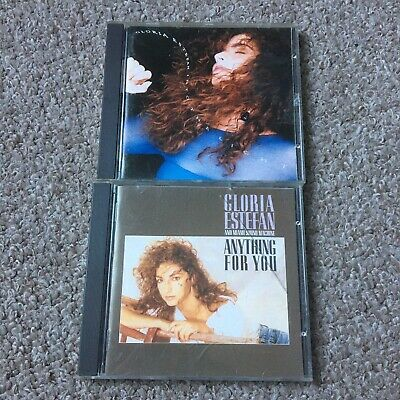£3.50 • Buy GLORIA ESTEFAN 2 X CD Album Anything For You + Into The Light
