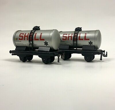 £15 • Buy Trix TTR Patents SHELL Oil Fuel Tank Wagon Tin Plate OO Gauge Vintage Collectors