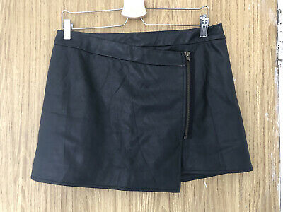 £7.60 • Buy Jane Norman Faux Leather Mini Skirt Size 14