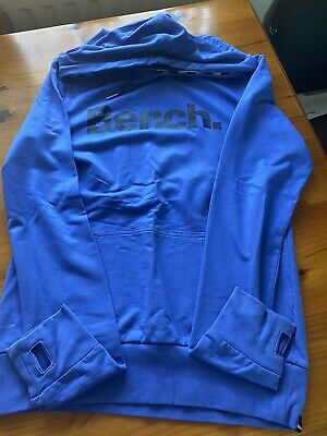 £3 • Buy Bench Blue Hooded Top Size L