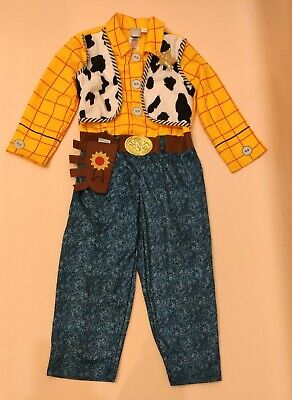 £13.50 • Buy Toy Story Woody Fancy Dress Costume Outfit Age 5-6
