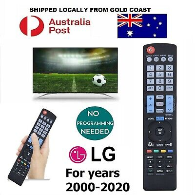 AU12.95 • Buy FOR LG TV Remote Control For Years 2000-2020 All Smart 3D HDTV LED LCD