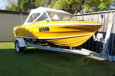 AU6200 • Buy 16 Ft. Pride Premier, Family Runabout, Fish Or Ski Boat. 115 Evinrude Outboard.