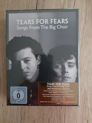 £145.14 • Buy Tears For Fears Songs From The Big Chair Super Deluxe Box 4CD + 2DVD MINT SEALED