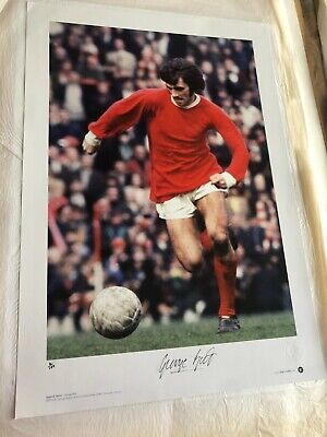 £275 • Buy Signed George Best Picture Ltd Edition EXTREMELY RARE