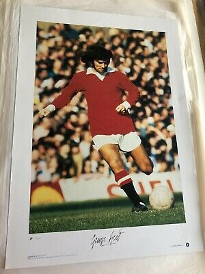 £275 • Buy Signed George Best Picture Ltd Edition