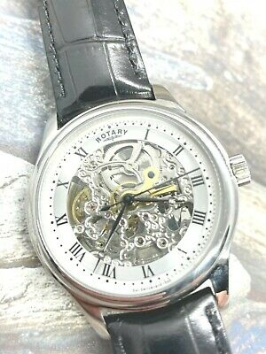 £119.99 • Buy Men's ROTARY Automatic Skeleton Watch - GS02518/06