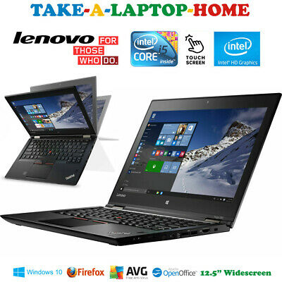 £319.99 • Buy Lenovo Yoga TouchScreen Laptop 2in1 Convertable Tablet SSD Windows10 Pro Fast