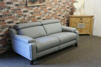 £1299 • Buy Parker Knoll Evolution Design 1701 3 Seater Sofa In Grey Fabric