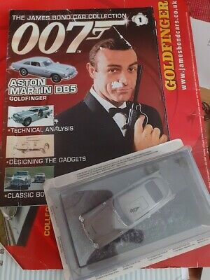 £8 • Buy The Official James Bond Car Collection 1 With Aston Martin DB5 With Backing Card