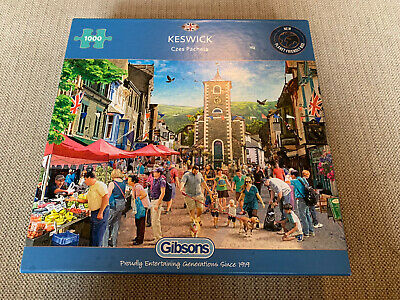 £4 • Buy Gibsons 1000 Piece Jigsaw Puzzle Keswick Complete And Excellent Condition