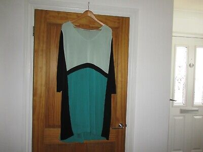 £9.99 • Buy COS Knitted Tunic Dress Colour Block Medium 44  Chest
