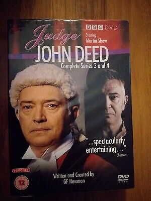 £8.98 • Buy JUDGE JOHN DEED Series 3 & 4 Complete DVD Martin Shaw. NEW AND SEALED.