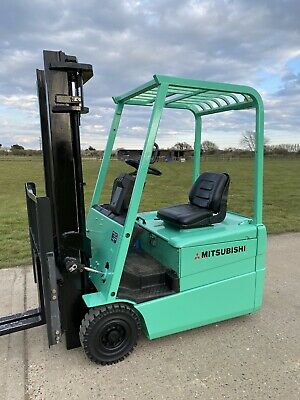 £4750 • Buy Mitsubishi 1.6 Tonne Electric Forklift Truck Low Hours