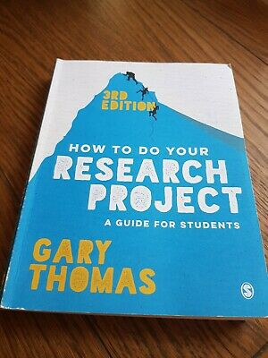 £7.50 • Buy How To Do Your Research Project, A Guide For Students 3rd Edition