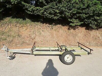 £100 • Buy Trailer Chassis Project - Car Trailer - Tractor Trailer- Atv Quad Mower