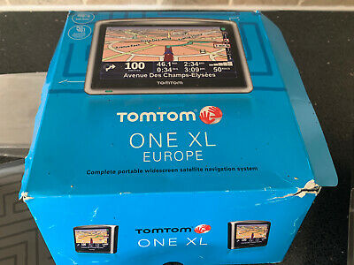 £16 • Buy Tomtom Sat Nav One XL Boxed Excellent Condition