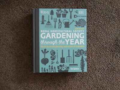 £5 • Buy Royal Horticultural Society Gardening Through The Year Book