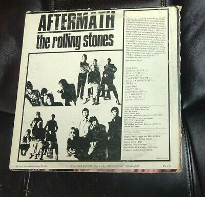 £7.33 • Buy The Rolling Stones - Aftermath - LP London PS 476 EX- Vinyl Sterophonic W/Insert