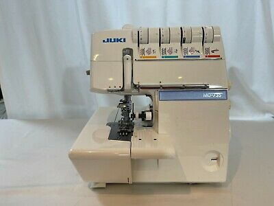 £113 • Buy Juki MO-735 2-Needle, 2/3/4/5-Thrd Overlock+Cover Stitch Sewing Machine NO CABLE