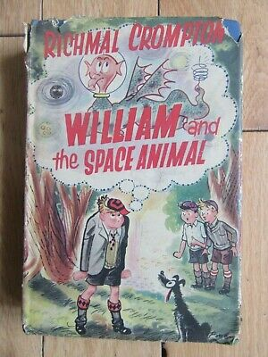£10 • Buy William And The Space Animal, Richmal Crompton, HB