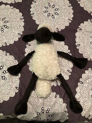 """£7 • Buy Shaun The Sheep Plush Soft Toy Collectable 2011 Namco Aardman 18"""""""