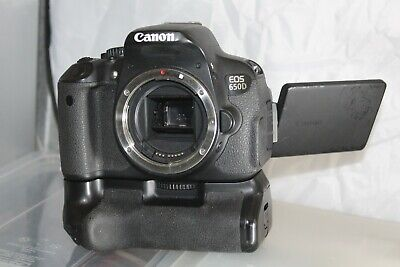 £51 • Buy Canon EOS 650D / Rebel T4i 18.0 MP Digital SLR Camera (Body Only) Low Count