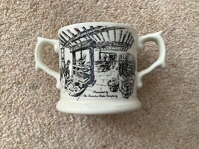 £4.95 • Buy Taunton Cider Company, Wade Pottery - Decorated Two Handled Cider Cup