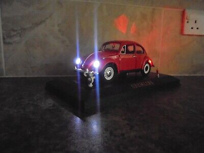 £49.99 • Buy Gremlins Vw Beetle With Working Lights And Gizmo 1:18 Model Car In Display Case