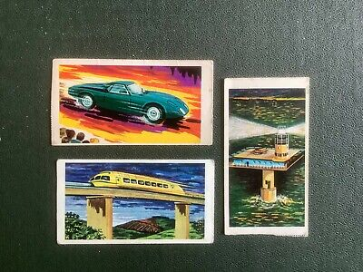 £1.50 • Buy Lyons Maid - Space Age Britain 1968 - 3 Cards Nos. 15,16 & 34 Good+ Cond