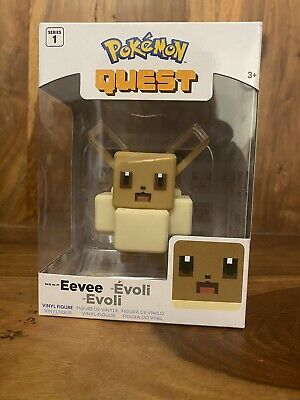 $13.74 • Buy EEVEE Pokemon Quest Vinyl Figure 4  - Series 1 - Game Limited Edition Toy NEW