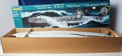 £9.99 • Buy Revell 1:72 Scale GERMAN SUBMARINE VII C  Wolf Pack  (a Large Model) See Images
