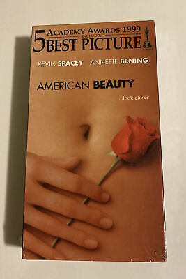 AU13.19 • Buy American Beauty VHS Movie 1999 Kevin Spacey, Annette Bening Sealed