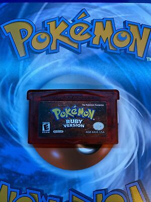 $60 • Buy Pokemon Ruby Version (GameBoy Advance / GBA) Authentic *TESTED*