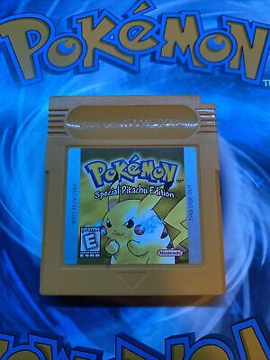 $40 • Buy Pokemon Yellow Version: Special Pikachu Edition (Game Boy, 1999) AuthenticSaves