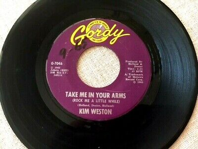 £10.80 • Buy KIM WESTON: TAKE ME IN YOUR ARMS/ DONT COMPARE ME W/ HER On Gordy