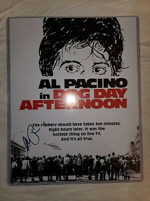 £254.60 • Buy Al Pacino Signed Autographed Dog Day Afternoon 11x14 Poster Beckett BAS
