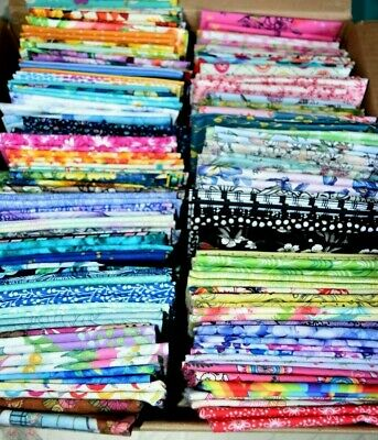 AU3.40 • Buy Patchwork & Quilting Fabric F/Q Fat Quarters *traditional Variety*