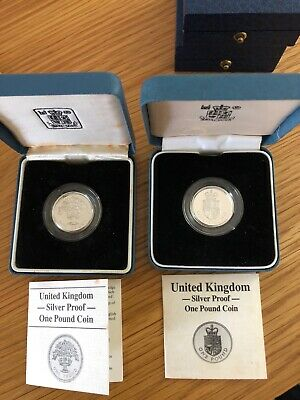 £30 • Buy UK Silver Proof One Pound Coins