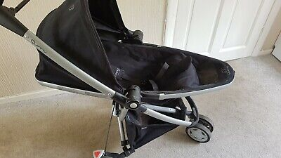 £40 • Buy Quinny Zapp Xtra 2 With Raincover Single Seat Stroller - Black