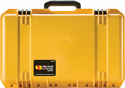 £54.84 • Buy Pelican Storm IM2500 Rigid Case With Pull Out Handle & Wheels YELLOW -Free Ship-