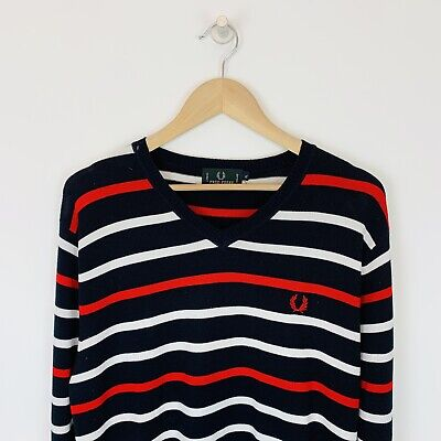 £20 • Buy Fred Perry V-Neck Jumper Size XL
