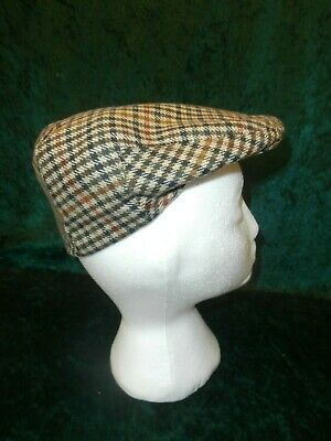 £39.99 • Buy New Mens Olney 100% Hereford Wool Tweed Flat Cap Size 56 - 6 7/8 Made In England