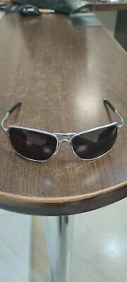 AU253.92 • Buy Oakley Inmate Polished Silver With Warm Grey Lenses See Description